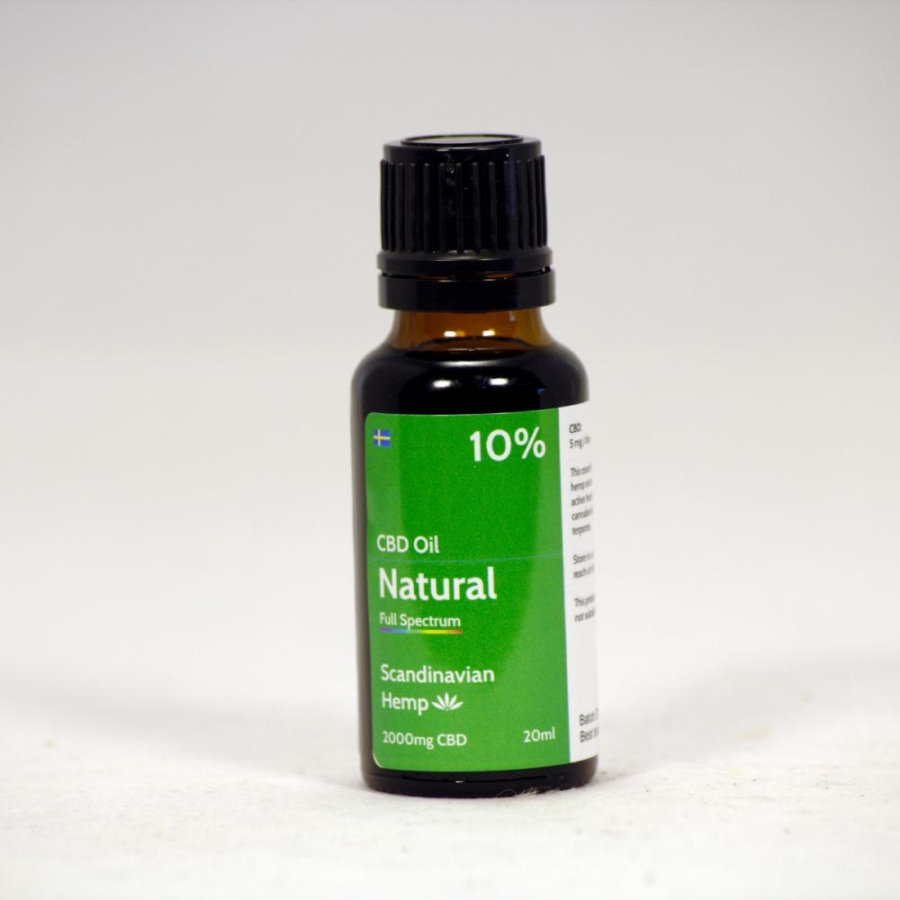 10% CBD Oil Natural 20 ml