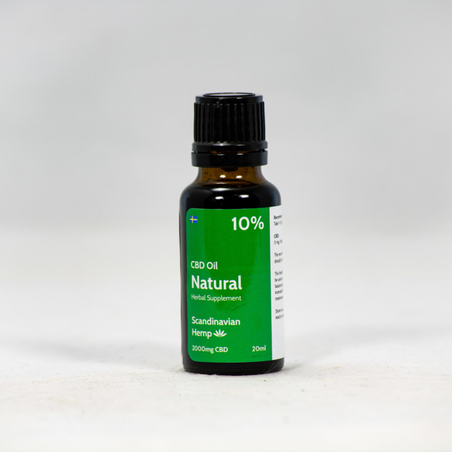 10 % CBD Oil Natural 20ml