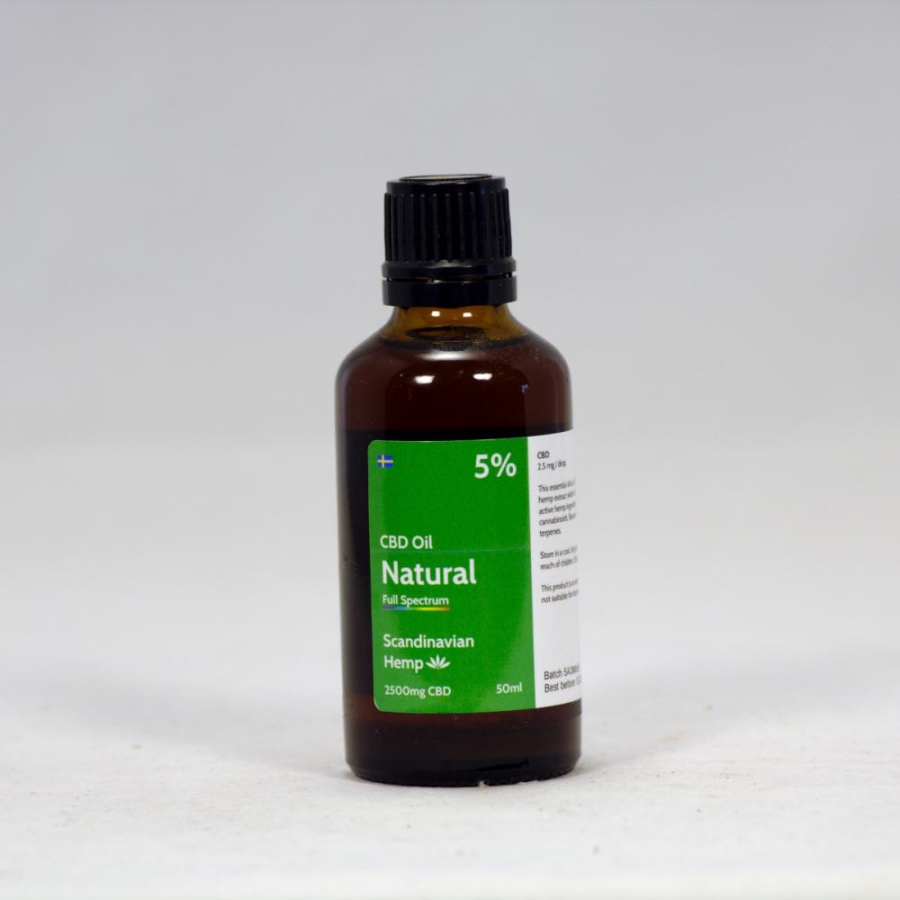 5% CBD Oil Natural 50 ml