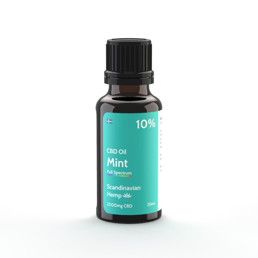 10% CBD Oil Minze 20 ml