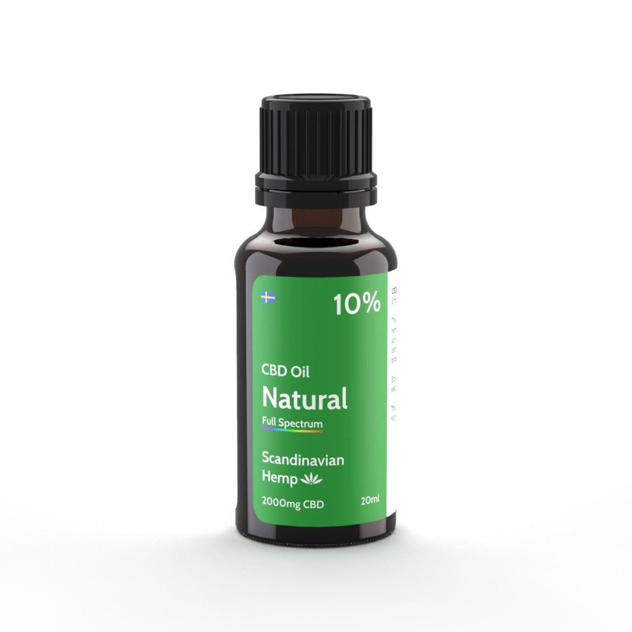 10% CBD Oil Natur 20 ml