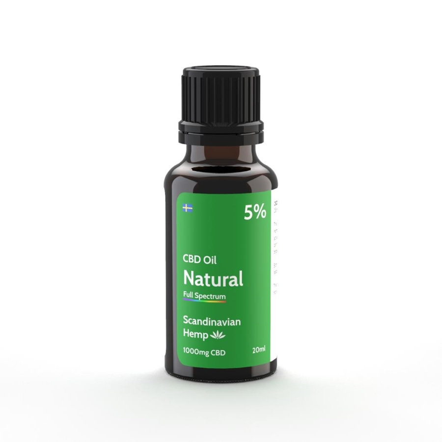5% CBD Oil Natur 20 ml